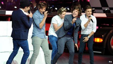 One Direction Radio 1 Teen Awards